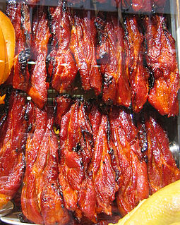 popular style of Cantonese barbecued pork