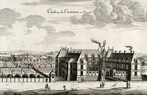 Pierre Le Muet - Chateau de Chavigny