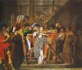 Chegada de Santa Inês de Assis ao Convento (c. 1697) - António de Oliveira Bernardes.png