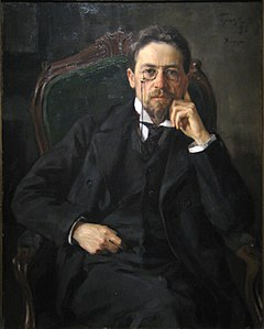 Osip Braz: Ritratto di ?echov, 1898