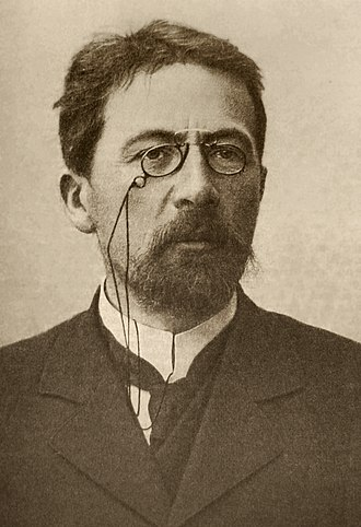 Pince-nez - Anton Chekhov with pince-nez, 1903