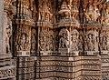 Chennakesava Temple, Somanathapura - Ornated exteriors 01.jpg