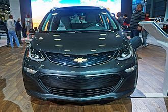 Chevrolet Bolt - Frontal view of the Chevrolet Bolt EV