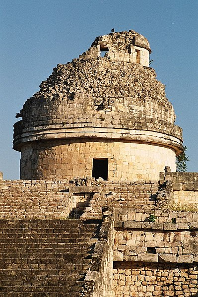File:Chichén Itzá Mayan observatory.jpg