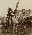 Chief Iron Tail in Scotland, Buffalo Bill's Wild West, 1904.jpg