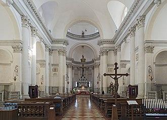 Il Redentore - Interior view.