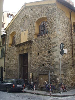 San Procolo, Florence - Image: Chiesa di san procolo 11