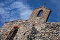 Chiesa medievale di San Lorenzo - Dettaglio dell'abside e del campanile a vela.jpg
