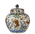 Chinese - Wine Jar with Carp among Water Weeds and Lotuses - Walters 491917 - View K.jpg