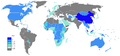 Chinese Wikipedia Page view ratio by country 201104-201203.png