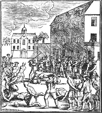 Mataram Sultanate - Chinese prisoners were executed by the Dutch in Batavia on 10 October 1740.