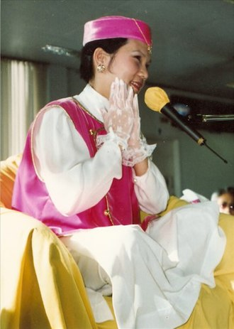 Ching Hai - Image: Ching Hai Sydney in 1993