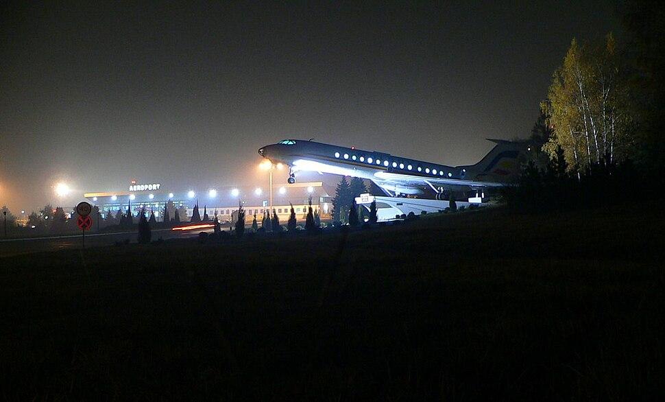 ChisinauAirportInNight