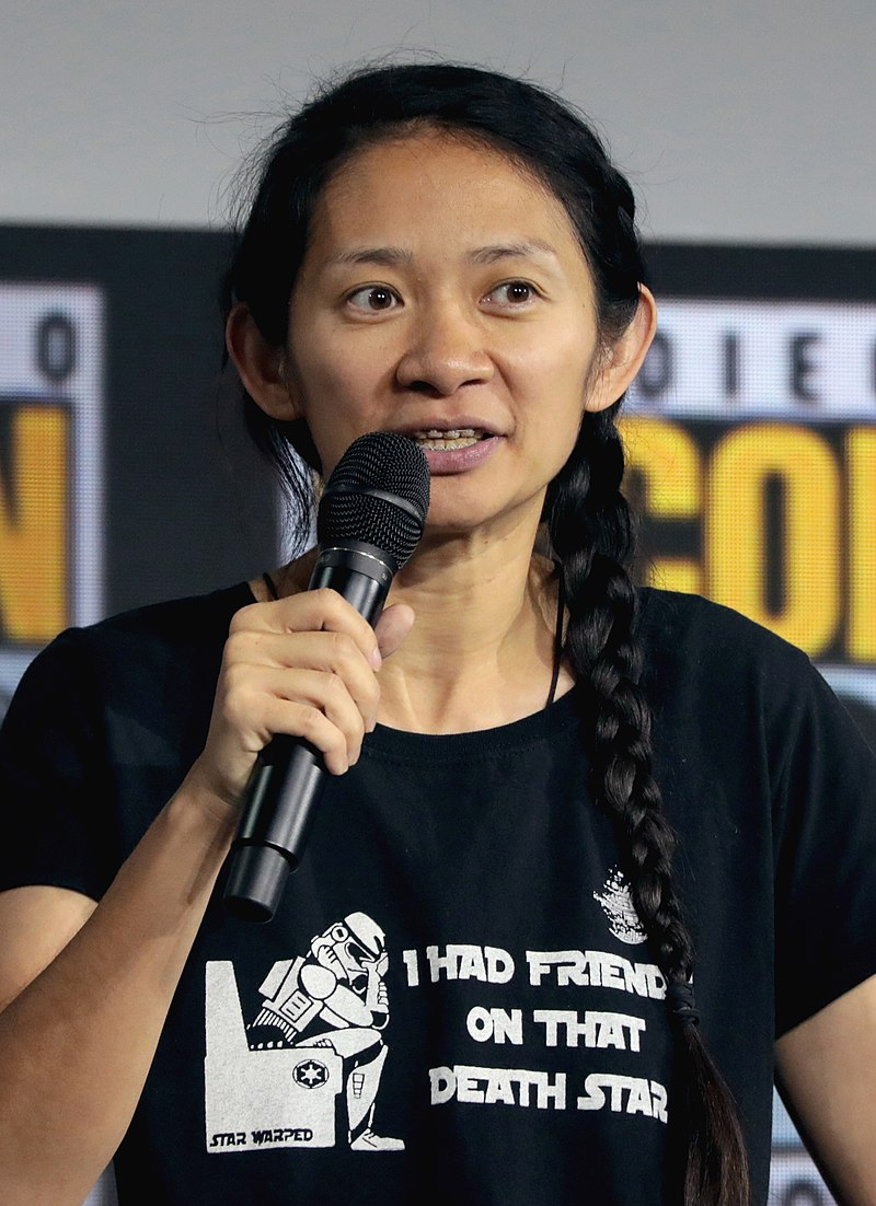 Chinese filmmaker Chloe Zhao, one of the winners in 2021's Academy Awards