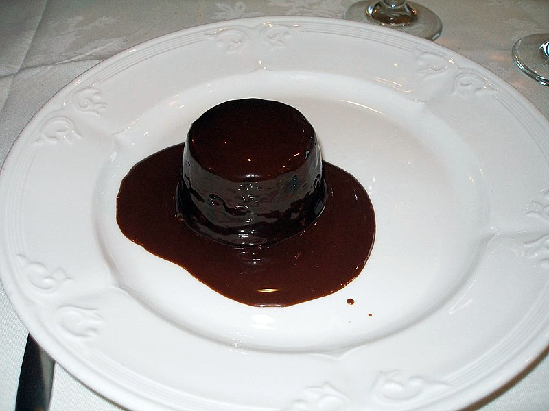 Lava Cake In A Mug With Brownie Mix