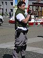Chris Redfield cosplayer at NCCBF 2010-04-18 1.JPG