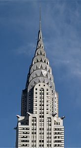 Chrysler Building In New York City By William Van Alen 1928 30