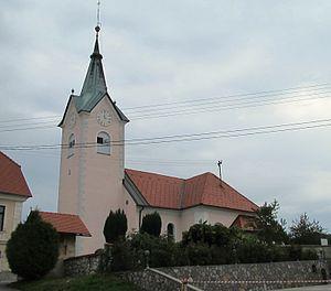 Mali Lipoglav - Saint Nicholas' Church