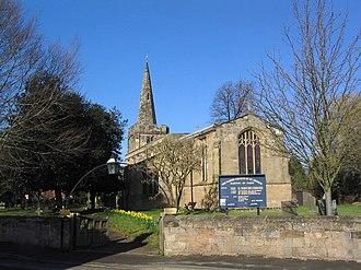 St George's Church, Barton in Fabis - Image: Church of St George, Barton in Fabis