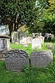 Church of St Nicholas, Ash-with-Westmarsh, Kent - churchyard headstones 01.jpg