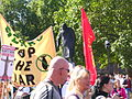 Churchill (through a anti-bush-war rally).jpg