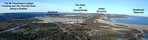 Churchill Falls Generating Station - Image: Churchill fallslabrador