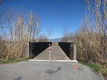 Ciclovia della conca reatina wikipedia for Piani di ponte ottagonale