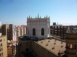 Cimbori de la cocatedral de Castelló des del Fadrí.jpg