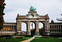 The Cinquantenaire in Brussels.