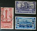 Cinquantenario della Reale Accademia Navale di Livorno - 1931 - serie completa - francobolli del Regno d'Italia.jpg