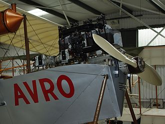 ADC Cirrus - Cirrus-Hermes I engine in Roe IV replica, Shuttleworth collection