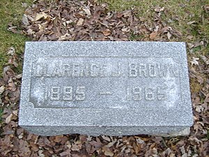 Clarence J. Brown - Image: Clarence J. Brown