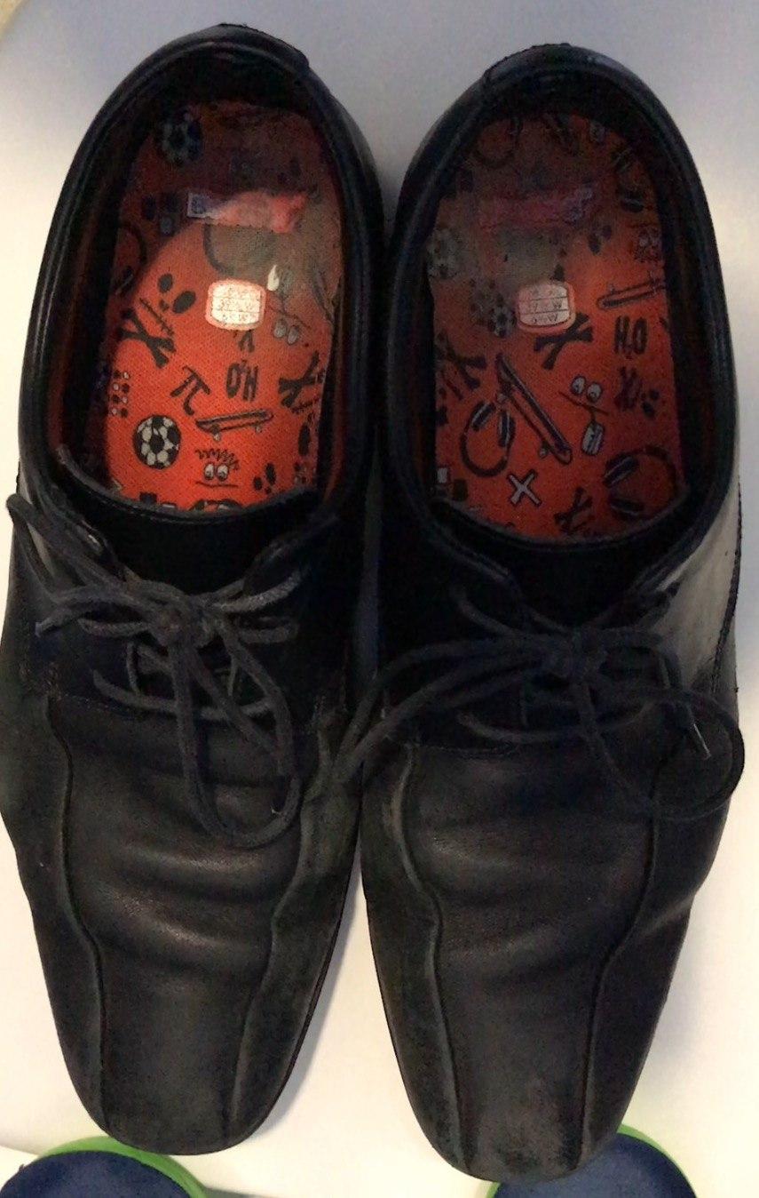 Clarks Willis Lad school shoes