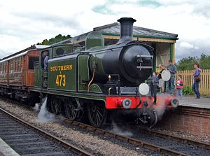 LB&SCR E4 class - B473 in preservation at the Bluebell Railway.