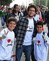 Clean-up volunteers in Tahrir.jpg
