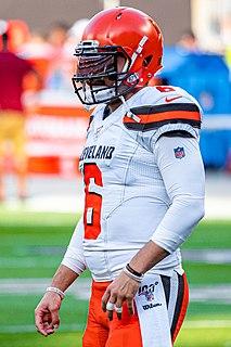 Baker Mayfield American football quarterback