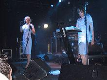Client in concert at Kulturfabrik Krefeld, 2005