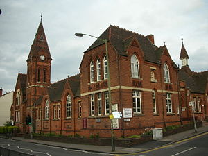 Harborne - Image: Clock Tower Harborne