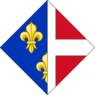 CoA of Charlotte of Savoy.png