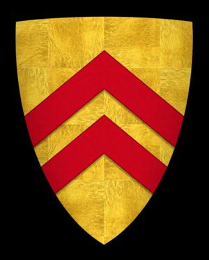John FitzRobert - Arms of John FitzRobert, Lord of Warkworth Castle
