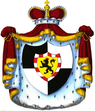 Coat of arms of Principality of Hohenzollern-Sigmaringen 1846.png