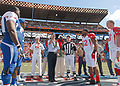 Coin toss at 2009 Pro Bowl.jpg