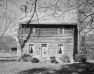 National Register of Historic Places listings in Summers County, West Virginia - Image: Col James Graham House