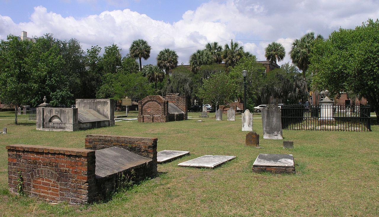 Fichier colonial cemetery in savannah georgia2 jpg for M m motors savannah ga