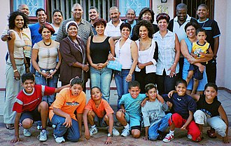 Human skin color - Image: Coloured family