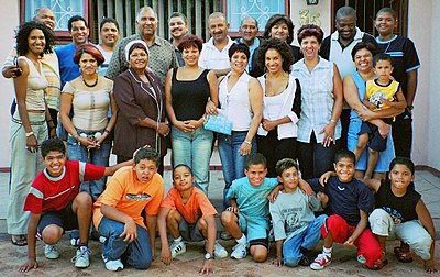 Extended Coloured family with roots in Cape Town, Kimberley and Pretoria
