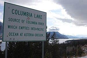 Columbia Lake - Overlooking Columbia Lake, near Canal Flats, B.C.