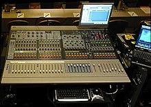mixing console wikipedia. Black Bedroom Furniture Sets. Home Design Ideas