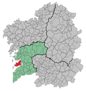 O Morrazo Comarca in Galicia, Galicia