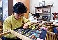 Come to Cheong Wa Dae Sarangchae and see master craftsmen at work (4426830692).jpg